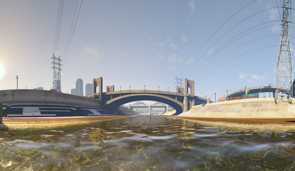 Los Santos River – High Res Pano