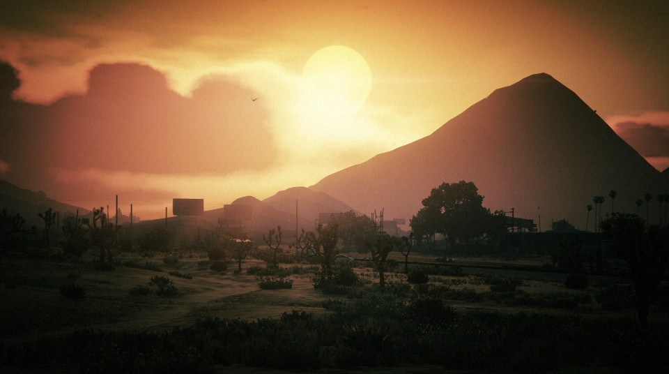 Chiliad Sunset