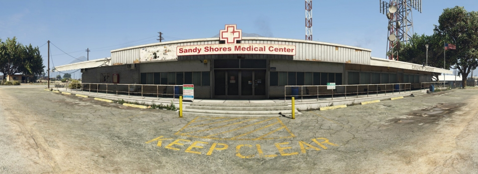 Sandy Shores Medical Center – High Res Pano