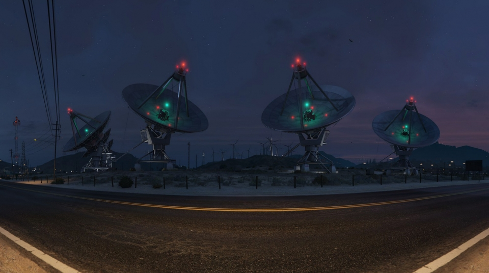Grand Senora Satellite Dishes – High Res Pano